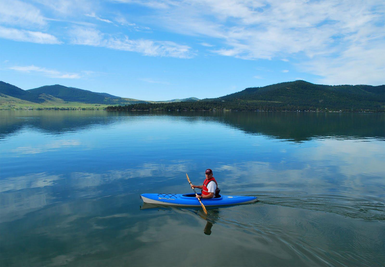 Um dos lagos mais transparentes do mundo