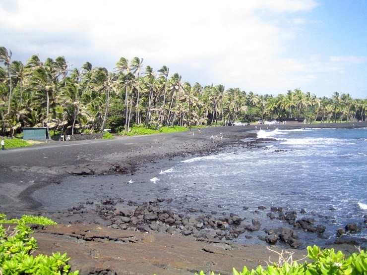 Praia de Punaluu